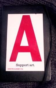 support Art moleskine